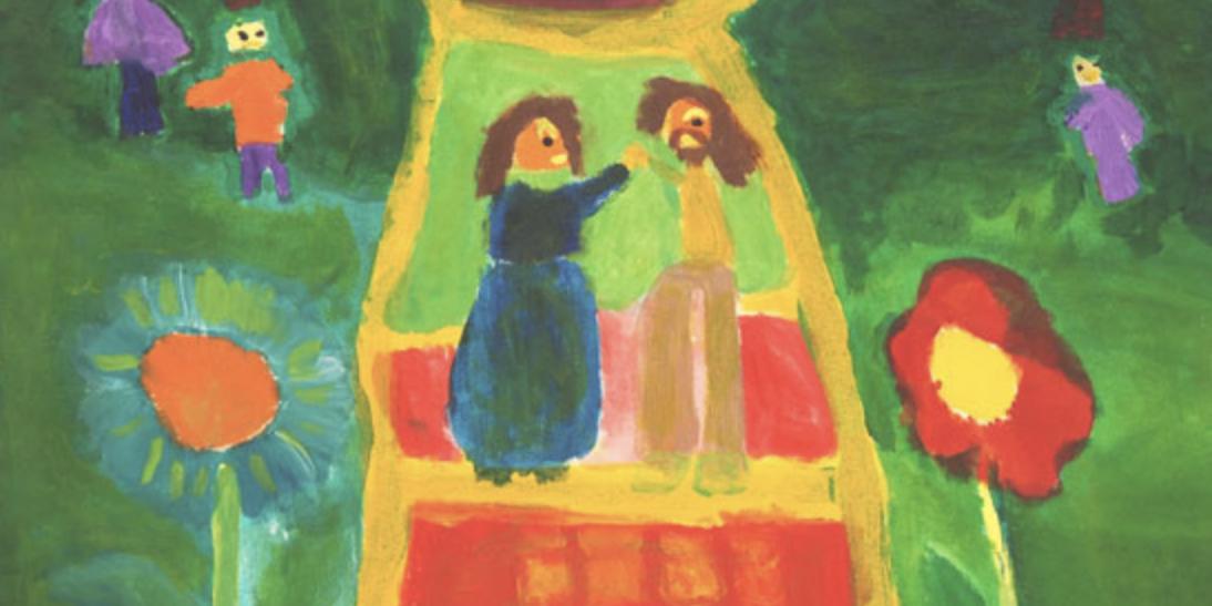 Dibujo de los niños de Coanil